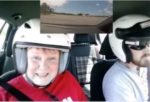 Mother-Son Autocross