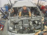 Motorsports Technical Center works on Antron Brown's Toyota Sequoia