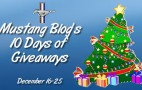 Mustang Blog's 10 Days of Giveaways, Dec. 16-25