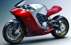 This is the motorcycle Zagato designed for MV Agusta