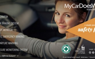 My car does what? New campaign teaches drivers & shoppers about safety features