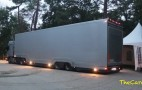 This Mysterious Truck Has Ferrari's Five Flagship Supercars Tucked Away: Video