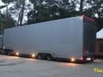 Mysterious Ferrari hauler