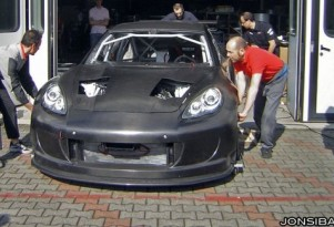 N.Technology Porsche Panamera Race Car Hits The Track