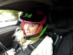 Nancy Atkinson-Turner in the Gumpert Apollo at Goodwood