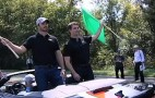 NASCAR Stars Go Green In Chevy Volts... Off Track, At Least