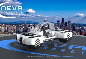 Neva Air Quad One flying car