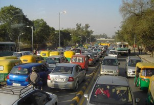 And the most congested city in the world is...