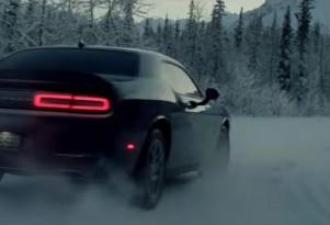 New Dodge Challenger GT AWD spot has the car running through Alaska