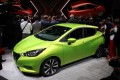 New fifth-generation Nissan Micra at launch, 2016 Paris Motor Show