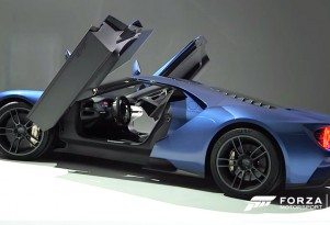 New Ford GT's design detailed