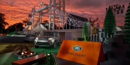 New Land Rover Discovery Sport debut on Lego Tower Bridge