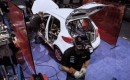 New Mazda2 built into B-Spec race car on the show floor at PRI