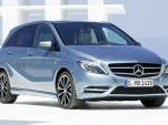 New Mercedes Benz B Class Exterior