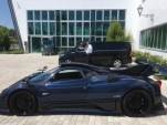 New one-off Pagani Zonda by Mileson