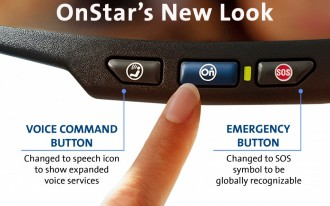 OnStar Mirror Gets A Minor Makeover