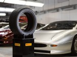 New Pirelli tire for the Jaguar XJ220