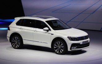 2018 VW Tiguan SUV Aims For U.S. With Third Row, Higher MPG