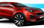 Kia Reveals Sportage Concept Drawings Ahead of Frankfurt Debut
