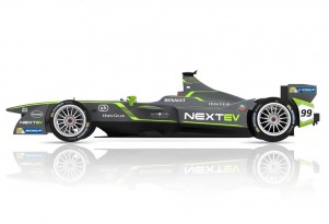 NextEV Formula E season one race car