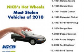 1994 Honda Accord Tops List Of Most Stolen Vehicles In 2010