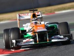 Nico Hulkenberg - Photo courtesy Sahara Force India Formula 1 Team