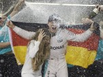 Nico Rosberg after winning the 2016 Formula One World Championship