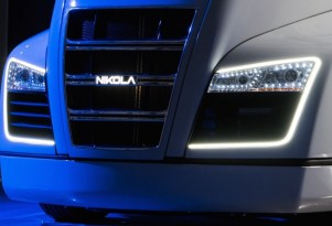 Nikola One hydrogen range-extended electric truck to be unveiled tonight