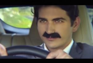 Nikola Tesla drives Tesla Model S: amateur fan video imagines