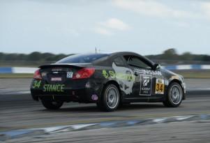 Nissan Altima Continental Tire SportsCar Challenge racer