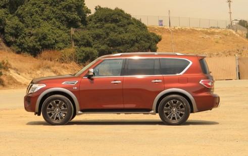 2017 Nissan Armada vs Chevrolet Tahoe Ford Expedition GMC Yukon