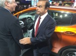 Carlos Ghosn's Face Shows Nissan's Reaction To 2017 Chevy Bolt EV