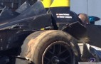 Nissan DeltaWing Crashes In ALMS Petit Le Mans Practice