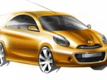 Nissan global minicar preview sketch