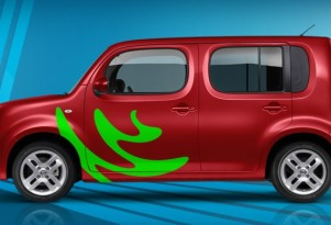 Nissan Offering Flashy Custom Graphics For Cube Juke, Frontier