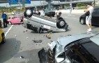 Nissan GT-R Crash Takes Out Driver's Ed Car