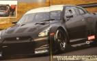 Spy shots: FIA-GT1 Nissan GT-R race car prototype