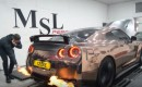 Nissan GT-R Shoots Flames From Its Exhaust