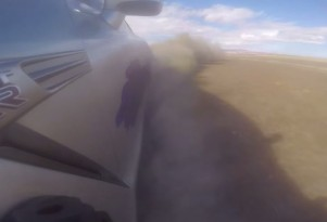 Nissan GT-R spins at 220 mph, escapes unharmed
