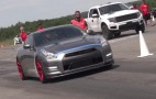 2,000-horspower Nissan GT-R crashes after 218-mph speed run
