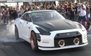 AMS Performance Nissan GT-R 6-second run