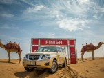 Nissan has calculated Camel Power for its desert driving vehicles