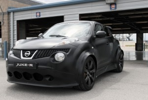 Nissan JUKE-R track drive, first U.S. appearance, Nashville Superspeedway