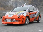 Nissan Leaf and Nissan e-NV200 Ultraman ginga editions