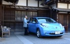 Temple Priest Reflects On Owning Nissan Leaf Electric Car: Video