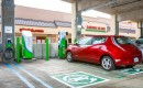 Nissan Leaf at eVgo Freedom Station Daly City, California