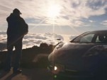 Nissan Leaf Vs The Volcano: The Silent Ascent