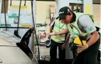 Gas Station Staff Get Punk'd Electric Style With Nissan Leaf