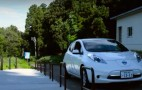 Japanese Hot Springs Maintain Serenity With Nissan Leaf Electric Cars