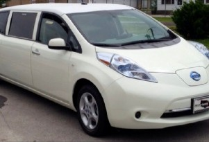 Stretch Nissan Leaf Electric Limo For Sale On eBay: What Would You Pay?